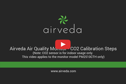 Tutorial - Calibrating CO2 for Airveda PM2.5 PM10 CO2 Temp Humidity Monitor
